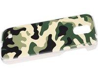 Чехол для Samsung Galaxy S4 - зеленый камуфляж - Camouflage Case