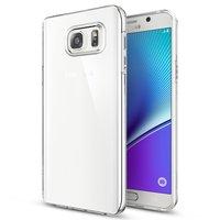 Тонкий прозрачный силиконовый чехол для Samsung Galaxy Note 5