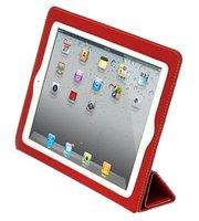 Красный чехол книжка с рамкой Yoobao для iPad 4 / 3 / 2 - Yoobao iSmart Leather Case Red