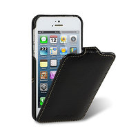 Кожаный чехол для iPhone 5c черный - Melkco Leather Case Jacka Type (Black LC)