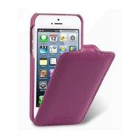 Кожаный чехол Melkco для iPhone 5c фиолетовый - Leather Case Jacka Type (Purple LC)