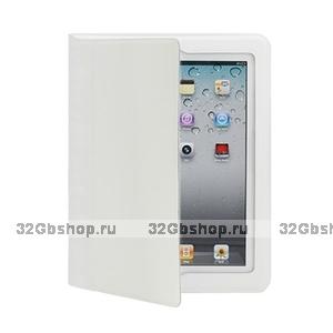 Белый чехол книжка с рамкой Yoobao для iPad 4 / 3 / 2 - Yoobao iSmart Leather Case White
