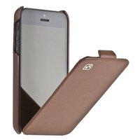 Кожаный чехол HOCO для iPhone 5c коричневый - HOCO Duke Leather Case Brown