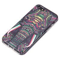 Силиконовый чехол для iPhone 5s / SE / 5 слон с узором