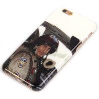 Cиликоновый чехол для iPhone 6s / 6 c фото Владимир Путин летчик