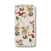 Пластиковый чехол накладка для iPhone 6s / 6 Новогодний