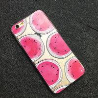 """Прозрачный силиконовый чехол для iPhone 6s / 6 (4.7"""") Арбузики"""
