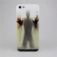 Пластиковый чехол накладка для iPhone 5s / SE / 5 ужастики