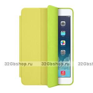 Желтый чехол книжка для iPad mini 4 - Apple Smart Case Yellow
