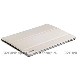 Белый чехол книжка для iPad Air 2 - Birscon Fashion Series Smart Case White