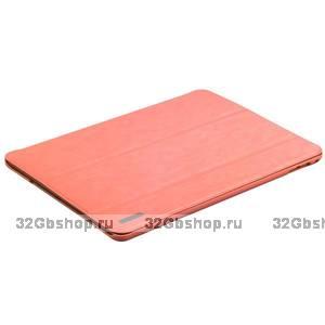 Розовый чехол книжка для iPad Air 2 - Birscon Fashion Series Smart Case Pink
