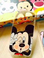 """Прозрачный силиконовый чехол с рисунком Микки Маус для iPhone 6s / 6 (4.7"""") Mickey Mouse"""