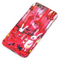 Пластиковый чехол накладка для iPhone 6s / 6 Кролики