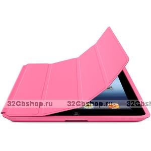 Чехол книжка Smart Case Pink для iPad 4 / 3 / 2 розовый