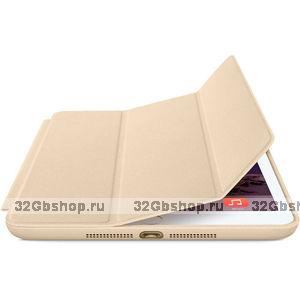 Чехол книжка Smart Case Gold для iPad 4 / 3 / 2 золотой
