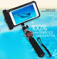 Водонепроницаемый монопод для селфи Xplay WaterProof Selfie Kit с беспроводной Bluetooth кнопкой спуска - черный