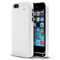 Белый чехол аккумулятор для iPhone 5с - 4200mAh