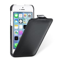 Винтажный кожаный чехол Melkco для iPhone 5C черный - Melkco Leather Case Jacka Type Vintage Black