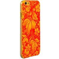 Пластиковый чехол для iPhone 6s / 6 с рисунком хохлома