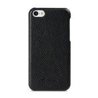 Накладка кожаная Melkco для iPhone 5C черная - Melkco Leather Snap Cover Black LC