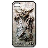 Пластиковый чехол накладка для iPhone 5s / SE / 5 с рисунком Star Wars мастер Йода - Yoda
