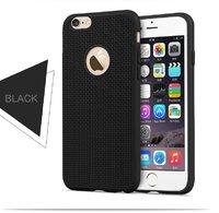 Супертонкий,ультра легкий силиконовый чехол для iPhone 6s / 6 Черный