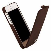 Кожаный чехол HOCO для iPhone 5C - HOCO Duke Leather Case Brown