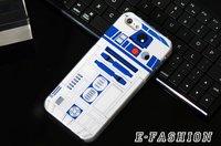 Пластиковый чехол накладка для iPhone 5s / SE / 5 с рисунком Star Wars R2D2