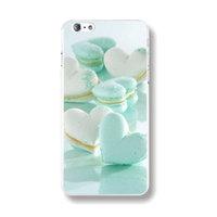 Пластиковый чехол накладка для iPhone 6s / 6 с рисунком Печеньки сердечки