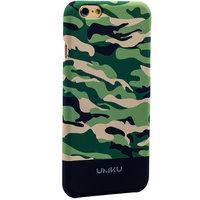 Пластиковый чехол для iPhone 6s / 6 зеленый камуфляж