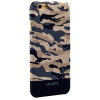 Пластиковый чехол для iPhone 6s / 6 серый камуфляж