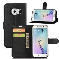 Чехол книжка кошелек для Samsung Galaxy S7 Edge черный - Art Case Book Type Black