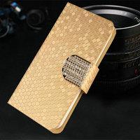 Золотой чехол книжка для Samsung Galaxy S7
