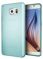 Прозрачный зеленый силиконовый чехол для Samsung Galaxy S7