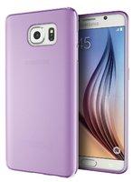 Прозрачный фиолетовый силиконовый чехол для Samsung Galaxy S7