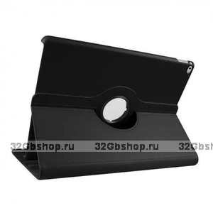Черный чехол поворотная книжка подставка для iPad Pro 12.9 - Mobi Cover 360 Rotate Case Black