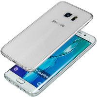 Тонкий прозрачный двухсторонний силиконовый чехол для Samsung Galaxy S7