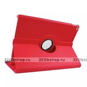 Красный чехол книжка подставка для iPad Pro 12.9 - Mobi Cover 360 Rotate Case Red