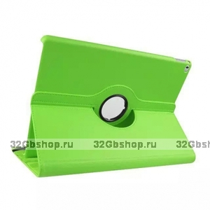 Зеленый чехол книжка подставка для iPad Pro 12.9 - Mobi Cover 360 Rotate Case Green