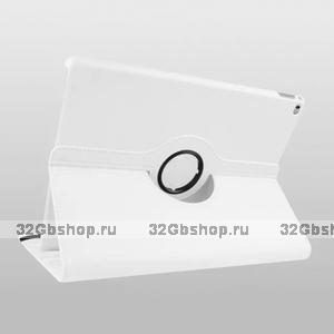 Белый чехол поворотная книжка подставка для iPad Pro 12.9 - Mobi Cover 360 Rotate Case White