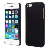 Черный пластиковый чехол для iPhone SE