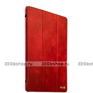 Чехол кожаный для iPad Pro 12.9 Vintage Series Красный