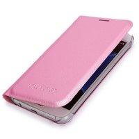 Розовый чехол книжка Wallet Card Flip Cover для Samsung Galaxy S7