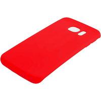 Красный матовый силиконовый чехол для Samsung Galaxy S7 Edge