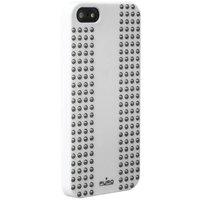 Пластиковый чехол накладка для iPhone 5s / SE / 5 белая Rock Puro