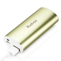 Аккумулятор внешний универсальный Yoobao Power Bank YB-6012 \USB выход: 5V 1A\ Green - зеленый 5200 mAh