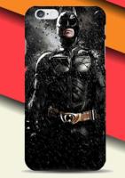 Пластиковый чехол накладка с рисунком Бэтмен - Batman для iPhone 6s / 6