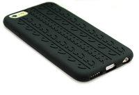"""Силиконовый чехол накладка Tyre Tread Case для iPhone 6 / 6s (4.7"""") черный протектор шины"""