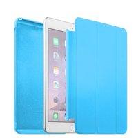 Голубой чехол Smart Cover & Case для iPad mini 4 обложка с накладкой