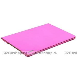 Розовый чехол подставка для iPad Air 2 - Birscon Cool series Pink